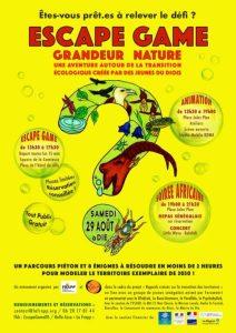 ESCAPE GAME GRANDEUR NATURE